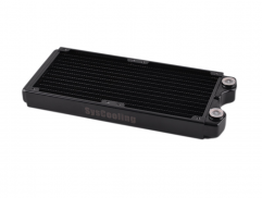 Syscooling PT240 copper heat radiator black color 240 mm water cooling radiator for CPU GPU water cooling system