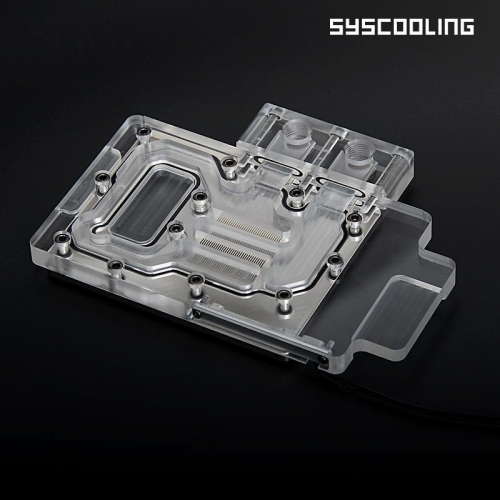 Syscooling Colorful GTX960-4G-D5 full coverage water block computer gpu water cooling copper bottom